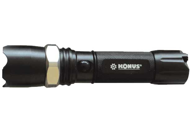 KONUSLIGHT-RC Torcia LED ricaricabile